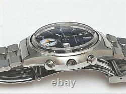 Extrêmement Rare Nos 1970's Seiko Chronograph 7016-8001 (5 Mains) Unus #7234