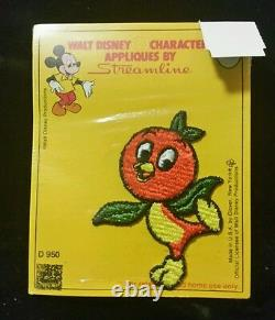 Extrêmement Rare Nouveau Vintage Disney Orange Bird Patch Collectable Last 1
