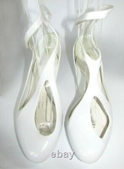Extrêmement Rare Zaha Hadid Designer Melissa Chaussures. Nouveau Dans La Boîte De Concepteur