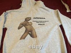 Golf Wang Hoodie Appelez Rhonda Tyler Le Créateur Extrêmement Rare Worn Once