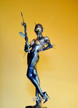 Hajime Sorayama Commando Statue 1/4 Échelle Volks Marque Nouveau Extrêmement Rare # 337