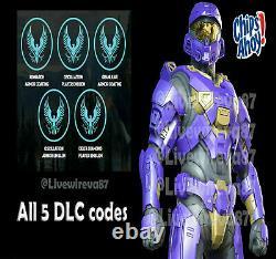 Halo Infinite Official Nabisco Content Pack - 5 Codes Dlc! - Extrêmement Rayonnées