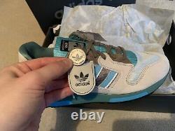 Hanon X Adidas Zx420 Luck Of The Sea Double Box Size Uk 9.5 Extrêmement Rare /200