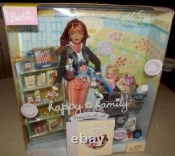 Happy Family Shopping Fun Midge, Nikki & Baby 2004 Extrêmement Rare Onf
