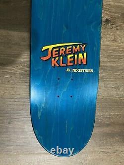 Hook-ups Skateboard Industries Jk Chun LI Deck Anime Jeremy Klein Extremely Rare