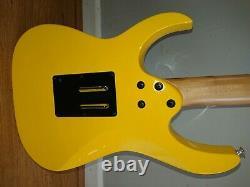 Ibanez Rg350 Guitare En Jaune Extrêmement Rare Mint Condition. Seller Du Royaume-uni