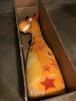Jouets R Nous Geoffrey Le Costume Officiel De Mascotte Giraffe Extrêmement Rare