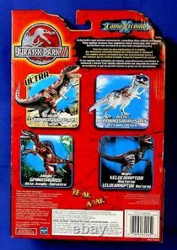 Jurassic Park 3 Camo Extreme Night Velociraptor Non Ouvert 2001 Rare