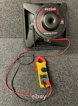 Kicker Solo-baric S12l7 Dual 4 Ohm Rare Old School Extremely Dard To Find New