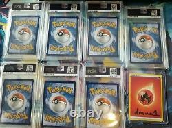 Le Pikachu De Pokemon Ash Est Prêt! Je Vous Choisis! Sm108-114 Psa Extrêmement Rare 10