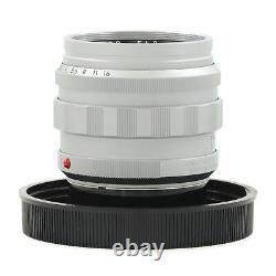 Leica Leitz 50mm F1.2 Noctilux-m Asph Argent + Boîte Extrêmement Rare 11702 #3210