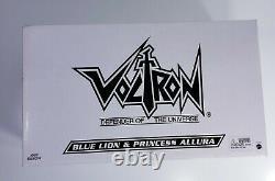 Lion Bleu Voltron Matty Collector Avec Princesse Allura Misb Extremely Rare