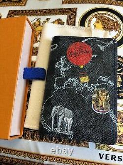 Louis Vuitton Damier Graphite Pocket Organizer Carte Impression Extrêmement Rare Sold Out