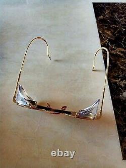 Lunettes De Soleil Thom Browne Tb-001-bt 12k Gold Design. Très Rare
