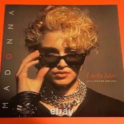 Madonna Lucky Star Uk 12 Extrêmement Rare Pleine Longueur W9522t