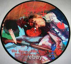 Mayhem Dawn Of The Black Heart Picture-lp Extremely Rare