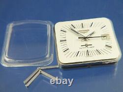 Montre Vintage Longines Ultra-quartz Des Années 1970 Extrêmement Rare Electronic New Old Nos