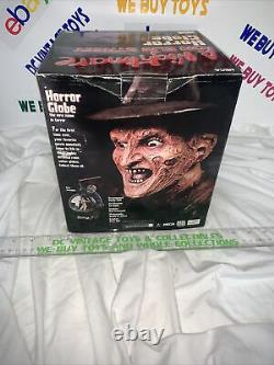 Neca 2003 Horror Globe Un Cauchemar Sur Elm Street Extrêmement Rare En Boîte Wow