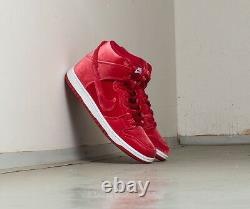 Nike Dunk High Premium Sb'red Velvet' Royaume-uni 5 Eur 38 Extrêmement Rare! Le Dernier