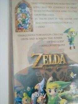 Nintendo Legend Of Zelda Wind Waker Baton Extrêmement Rare! Faire Une Offre