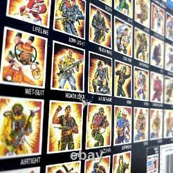 Nouvelle Figure Gi Joe 1985 Cobra Ninja Ombre De Tempête Nos Sur Carte Extrêmement Rare