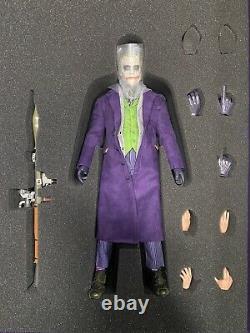 Overtoys The Dark Knight Joker 1/6 Rooted Hair Extrêmement Rare Vendeur Américain