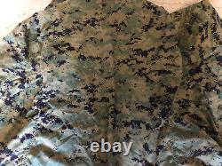 Prototype Extrêmement Rare 2001 Usmc Martat Blouse Woodland Numérique Uniform Medium