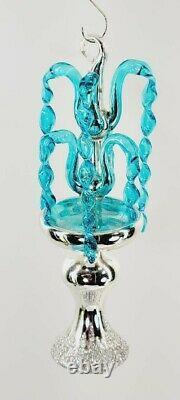 Radko Italien Crystal Fountaine 93-243-extremement Rare Échantillon Final De Production Sr