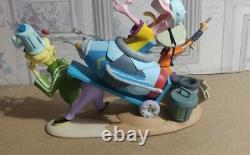 Rare Ed Edd N Eddy Limited Edition Numérotée Statue Extrêmement Rare 1000 Made