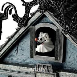 Rare Extremely Tim Burton Cauchemar Avant L'horloge De Coucou De Noël