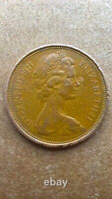 Rarissime 1971 New Pence Coin 2p, En Bon État