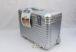 Rimowa Topas Pilote Pilotenkoffer 2 Roues Extrêmement Rares Made In Germany Nouveau