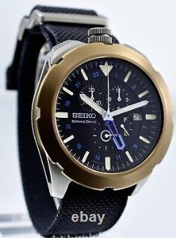 Seiko Spring Drive Spacewalk Sps005 Montre 100% Véritable Extrêmement Ultimate Rare A