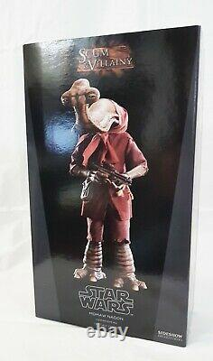 Sideshow Star Wars Momaw Nadonhammerhead Action Figure 12 1/6 Rare Extremely