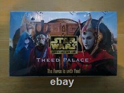 Star Wars Ccg Theed Palace Booster Box Scellé Vhtf Oop Rare Mint Condition