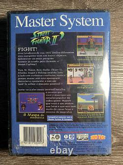 Street Fighter II Champion Edition Sega Master System Par Tec Jouet Extrêmement Rare