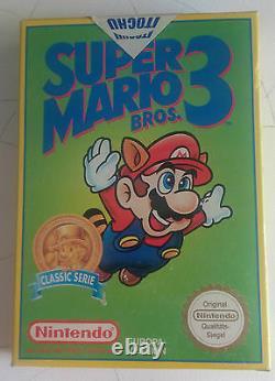 Super Mario Bros 3 Nintendo Nes Nouvelle Version Verte Extrêmement Rare