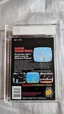 Super Mario Bros Nes Autocollant Scellé Vga 85 Extrêmement Rare Pal-a Royaume-uni
