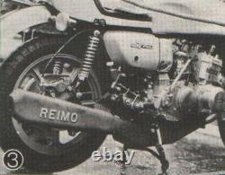 Suzuki Gt750 Échappement Reimo Extrêmement Rare