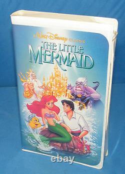 The Little Mermaid (disney Vhs Black Diamond) -tout Neuf! Extrêmement Rare