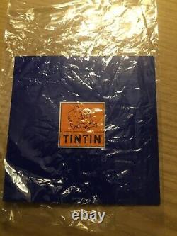 Tintin Rocket To The Moon Figurine 42cm Extrêmement Rare! N'est Plus Fabriqué