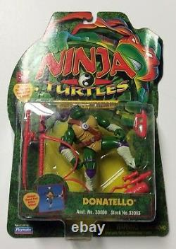 Tortues Ninja La Prochaine Mutation Donatello Armes Rouges Nip - Extrêmement Rare