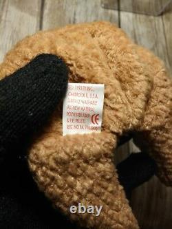Ty Bonnet Bébé Origiinal Curly- Extrêmement Surface Stamp Meilleur Cadeau Rare