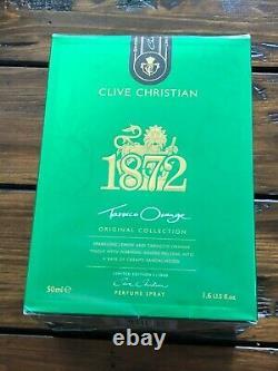 Véritable Clive Christian 1872 Tarocco Orange Edition Limitée Extrêmement Rare 2000