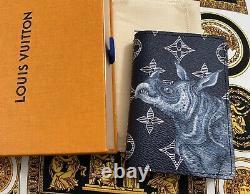 Véritable Marque Nouvelle Louis Vuitton Chapman Rhino Pocket Organizer Extremely Rare