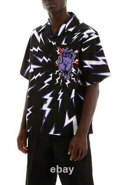 W@w Prada Et Universal Frankenstein Bowling Shirt Sz. Xl. Oui. Règles Extérieures