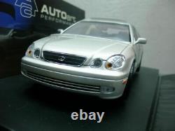 Wow Extremely Rare Lexus Gs 400 1999 Argent 118 Autoart-430/300/toyota Aristo