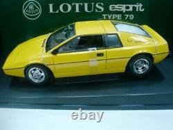 Wow Extremely Rare Lotus 1979 Esprit S2 Rhd 160hp Jaune 118 Auto Art-111/v8/gt