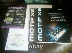 Yamaha Motif Xs6 Xs 6 Mint+ Fresh + Nouveau + Extrêmement Rare! + Rapide + Coffre-fort + Navire