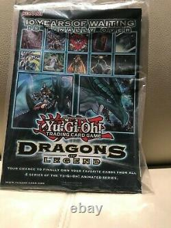 Yu-gi-oh Jump-en068 Blue Eyes White Dragon Usine Scellé Magazine Avec Carte